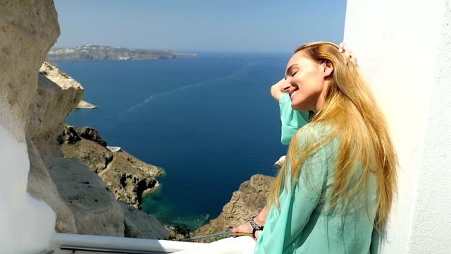 かわいい女性・ ギリシャの禅