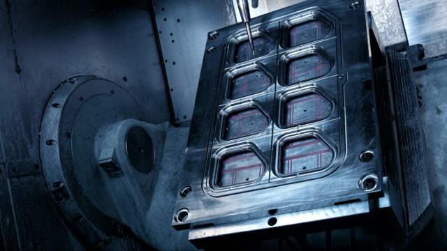 CNC Cutting A Machine Mould