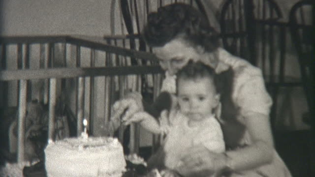 cutting cake 1941 - 1941 stock videos & royalty-free footage