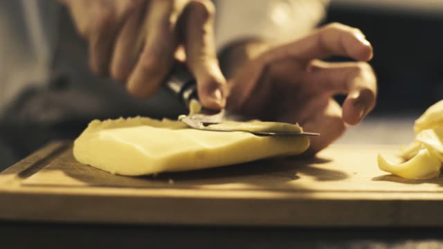 cutting cheese - parmesan stock videos & royalty-free footage