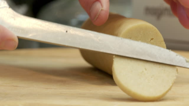cutting dough - one mid adult woman only stock videos & royalty-free footage