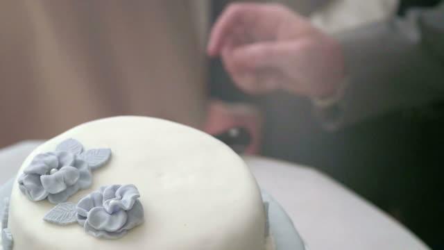 Cutting Gay Wedding Cake