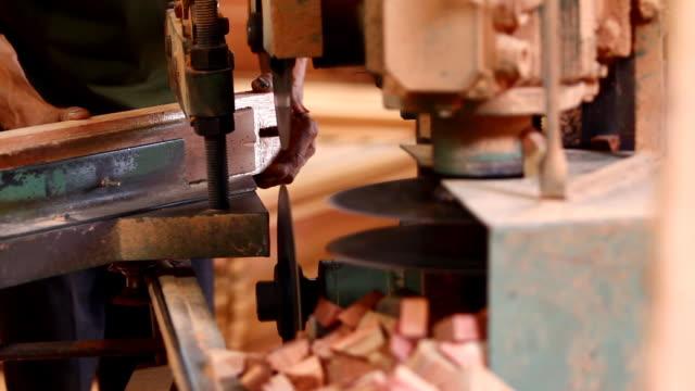 vídeos y material grabado en eventos de stock de corte madera - oficio agrícola