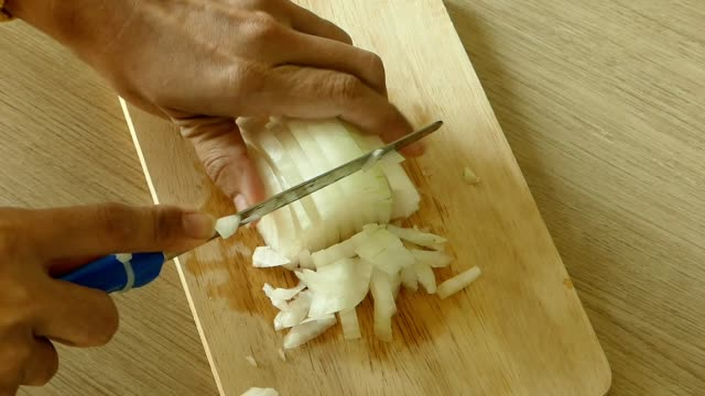 cutting onions - onion stock videos & royalty-free footage
