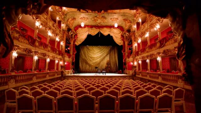cuvilliéstheater | residenztheater münchen 1 - opera stock videos & royalty-free footage