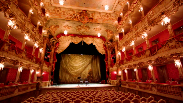 cuvilliéstheater | residenztheater münchen 4 - theatre building stock videos & royalty-free footage