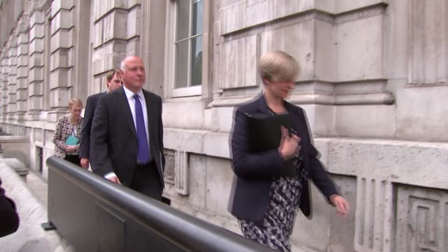 Jeremy Hunt arrives at COBRA meeting ENGLAND London Whitehall EXT Group including Jeremy Hunt arriving to attend a meeting of the government COBRA...