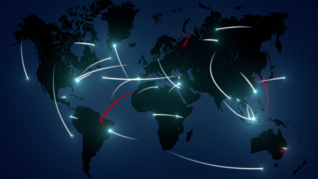 Cyber attacks on a network