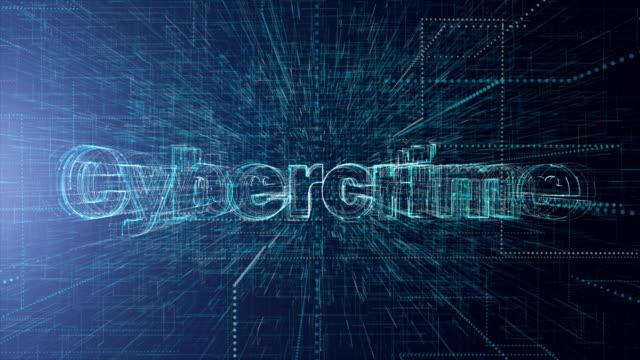 vidéos et rushes de cybercriminalité, cyber-sécurité, réseau cryptocurrency concep - planche de bois