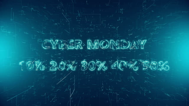 cyber monday - capital letter stock videos & royalty-free footage