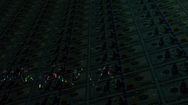 stockvideo's en b-roll-footage met cyber geld - amerikaanse dollar