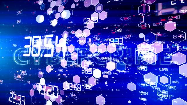 サイバー犯罪 - イーサリアム点の映像素材/bロール