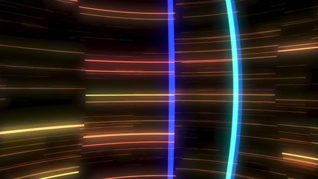vídeos y material grabado en eventos de stock de cyberpunk glitch, ruido de película en pantalla de tv analógica vhs transiciones, ideal para digital, conexión a internet, negocios, arte y artesanía, tecnología, eventos, festival, clips de música, publicidad y videos comerciales - pájaro carpintero escapulario