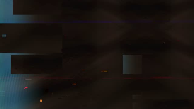 vidéos et rushes de cyberpunk glitch, film noise on analog tv screen vhs transitions, ideal for digital, internet connection, business, art and craft, technology, events, festival, music clips, advertising and commercial videos - pixellisation