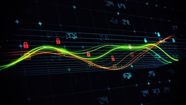 vídeos y material grabado en eventos de stock de concepto de ciberseguridad - corrupción corporativa