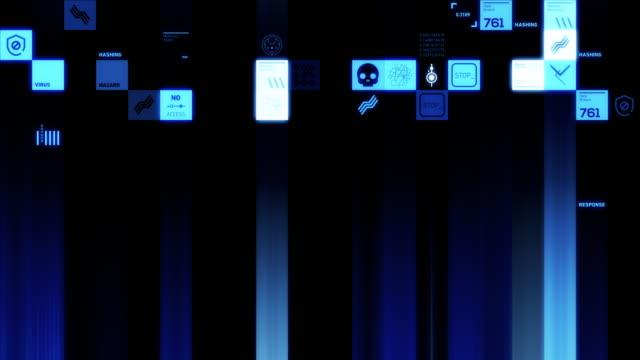 cybersecurity symbols - computer bug stock videos & royalty-free footage