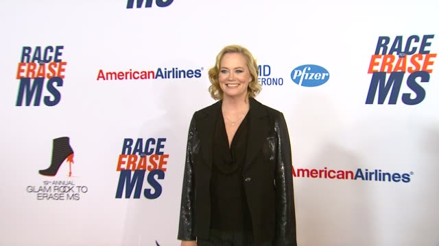 cybill shepherd at 19th annual race to erase ms glam rock to erase ms on 5/18/12 in los angeles ca - race to erase ms stock videos and b-roll footage