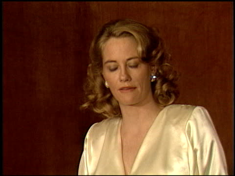 cybill shepherd at the now anniversary at dorothy chandler pavilion in los angeles california on december 1 1986 - dorothy chandler pavilion stock videos and b-roll footage