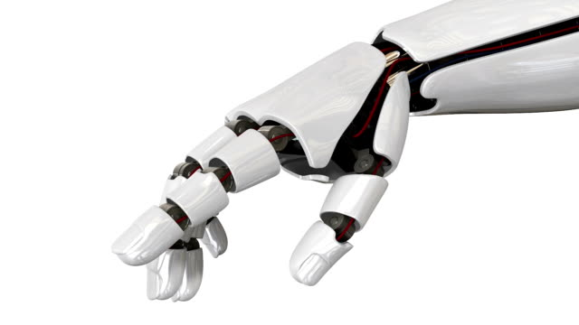 cyborg robot hand hd movie - robot stock videos & royalty-free footage
