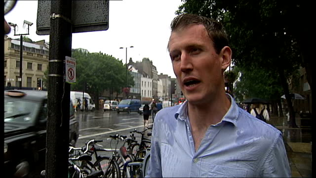 cycle task force credited with cutting crime in london james jones interview sot int various shots recovered stolen bicycles stacked up in warehouse... - charing cross stock videos and b-roll footage