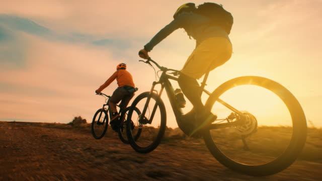 자전거를 타고