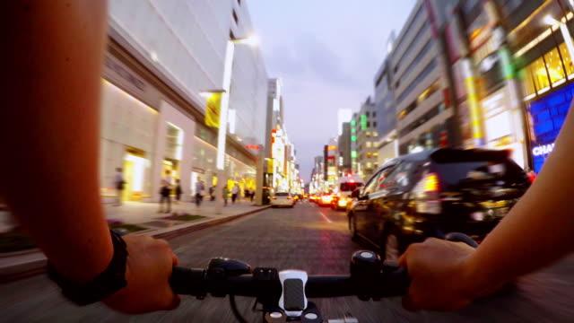 サイクリング、銀座、Tokyo-4 K