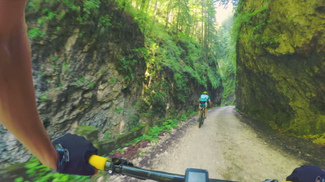 POV Cycling in nature.