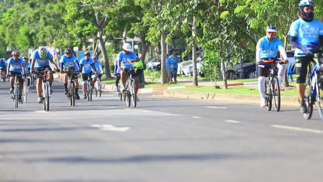 Cycling marathon