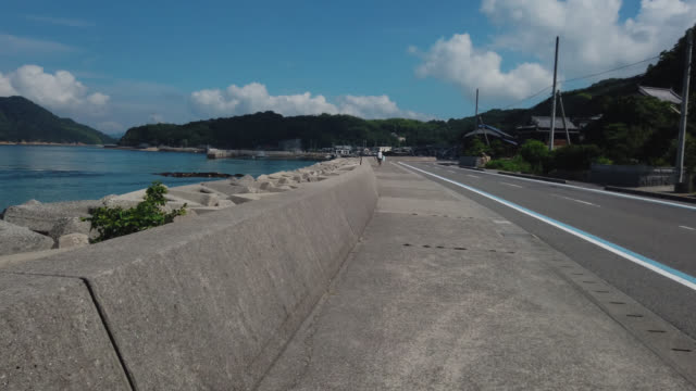 cycling on the shimanami kaido bicycle route, japan , - nishiseto expressway stock videos & royalty-free footage