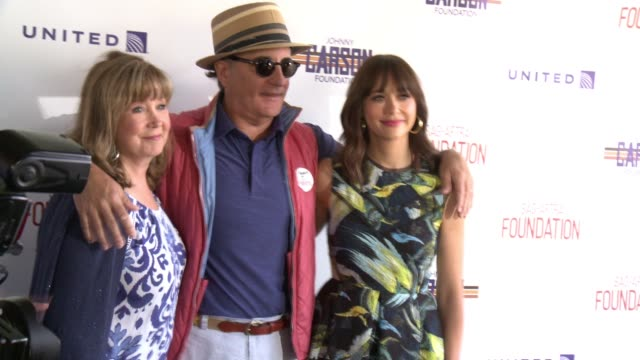 Cyd Wilson Andy Garcia and Rashida Jones at the SAGAFTRA FoundationActors Inspiration Award To Rashida Jones8th Annual Los Angeles Golf Classic at...