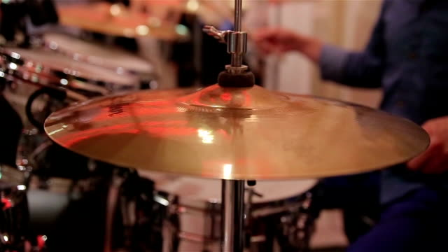 cymbal drums - cymbal stock videos and b-roll footage