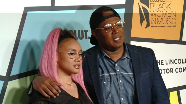 Cymphonique Miller Master P at ESSENCE 8th Annual Black Women In Music in Los Angeles CA