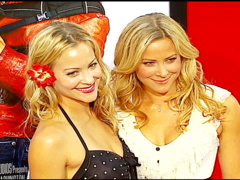 cynthia daniel and brittany daniel at the 'little man' premiere at the mann national theatre in westwood california on july 6 2006 - mann national theater stock videos & royalty-free footage