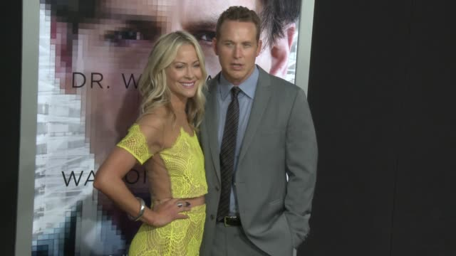 """cynthia daniel and cole hauser at the """"transcendence"""" los angeles premiere at regency village theatre on april 10, 2014 in westwood, california. - regency village theater stock videos & royalty-free footage"""
