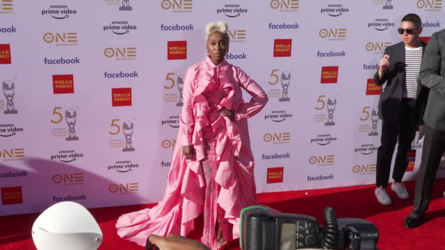 cynthia erivo at the 50th naacp image awards at dolby theatre on march 30 2019 in hollywood california - naacp stock videos & royalty-free footage