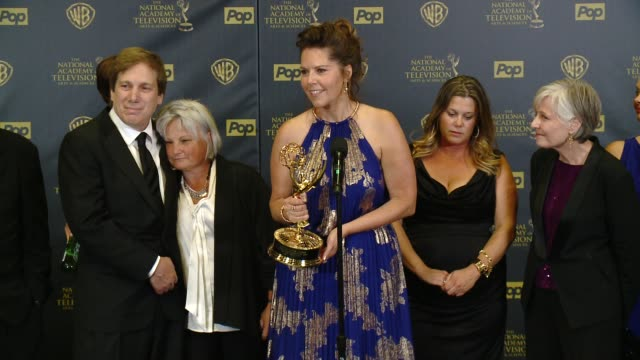 SPEECH Cynthia J Popp on winning the award at 42nd Annual Daytime EMMY Awards at Warner Bros Studios on April 26 2015 in Burbank California