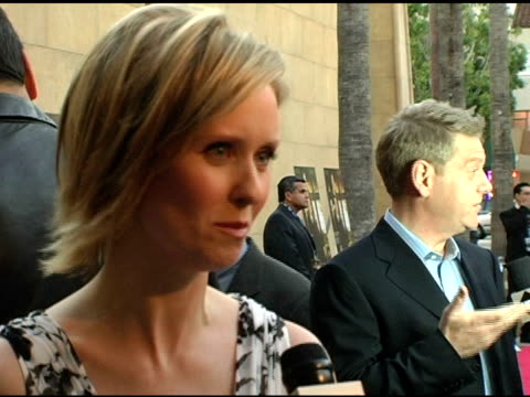 cynthia nixon and kenneth branagh at the 'warm spings' los angeles premiere at the egyptian theatre in hollywood california on april 4 2005 - cynthia nixon stock videos and b-roll footage