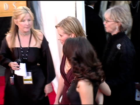 cynthia nixon and kristin davis at the 2005 screen actors guild sag awards arrivals at the shrine auditorium in los angeles california on february 5... - kristin davis stock videos and b-roll footage