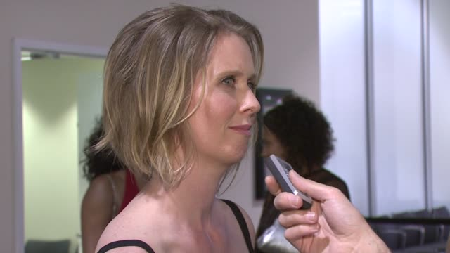 cynthia nixon at the new york city opera and brooklyn academy of music gala fundraiser at cunard line's queen mary 2 in new york new york on may 24... - cynthia nixon stock videos and b-roll footage