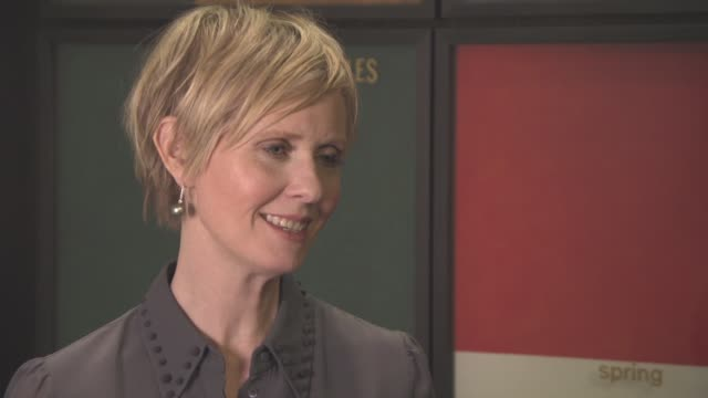 INTERVIEW Cynthia Nixon on the women's issues addressed in the film how there is still inequality in the world at 'A Quiet Passion' Interview 66th...