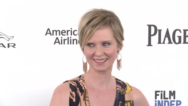 cynthia nixon the telegenic left leaning sex and the city actress turned activist faces the electoral battle of her life in her long shot bid to... - andrew cuomo stock videos and b-roll footage