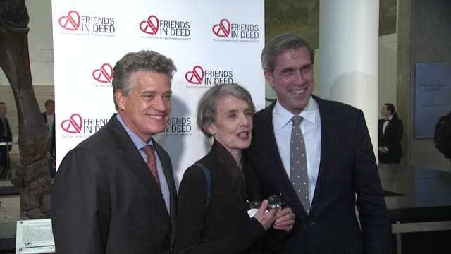 cynthia o'neal and guests at the a little jurassic treasure hunt - a 20th anniversary benefit celebrating 'friends in deed' at new york ny. - jurassic stock videos & royalty-free footage