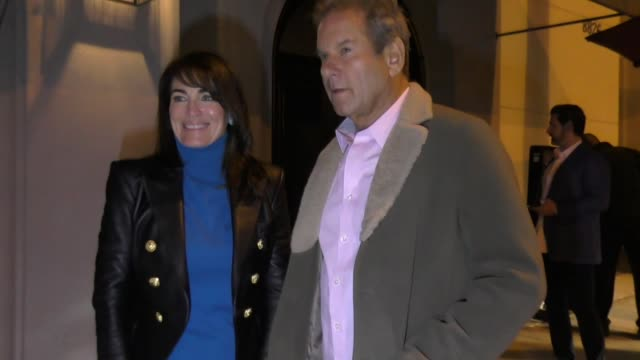 cynthia sikes yorkin talks about the upcoming blade runner tv series outside craig's restaurant in west hollywood in celebrity sightings in los... - west hollywood stock-videos und b-roll-filmmaterial