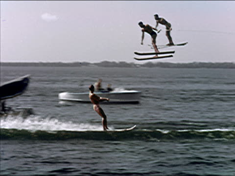 1956 Cypress Gardens waterskiing show