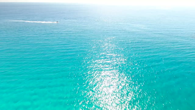 Cyprus, Ayia Napa, Cape Greco. Aerial View. Beautiful landscape and sea waves. Blue Lagoon. Aerial drone shot.