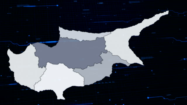 Cyprus network map