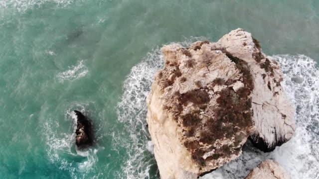 cyprus - mar mediterraneo video stock e b–roll