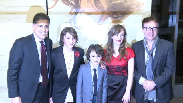 "Cyrus Nowrasteh Adam GreavesNeal Finn MacLeod Ireland Sara Lazzaro Chris Columbus at ""The Young Messiah"" Los Angeles Special Screening Presented by..."