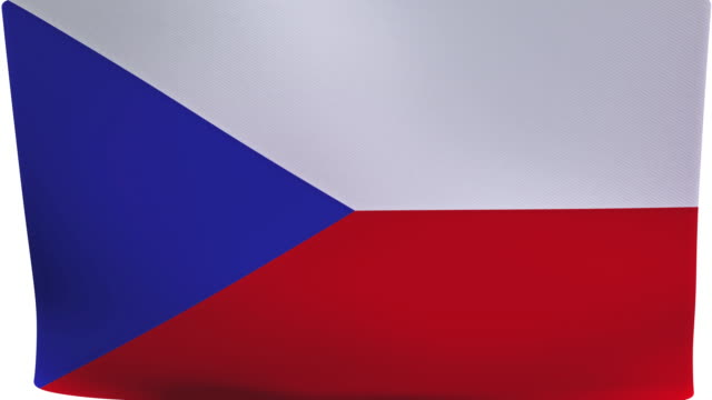 tschechische flagge intro - tschechische kultur stock-videos und b-roll-filmmaterial