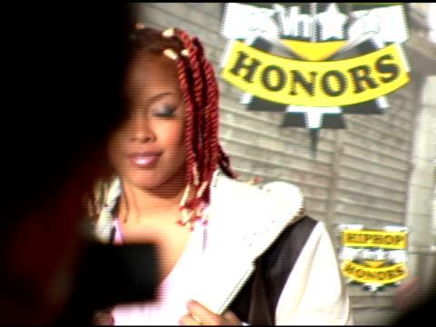 da brat at the 2006 vh1 hip hop honors at the hammerstein ballroom in new york new york on october 7 2006 - hammerstein ballroom bildbanksvideor och videomaterial från bakom kulisserna